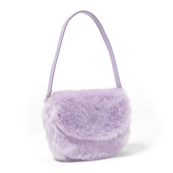 Faux Fur Purse by Janie And Jack