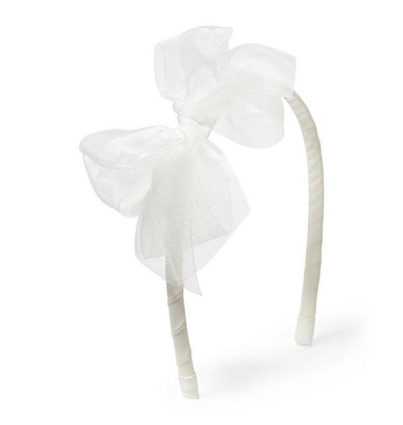 Organza Bow Headband