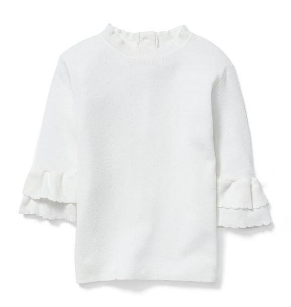 Ruffle Cuff Sweater