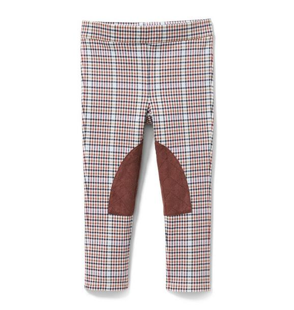 Plaid Riding Pant