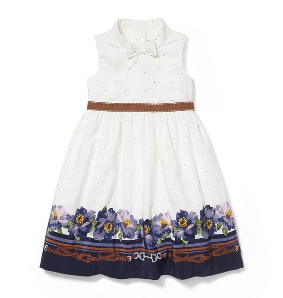 Border Floral Dress