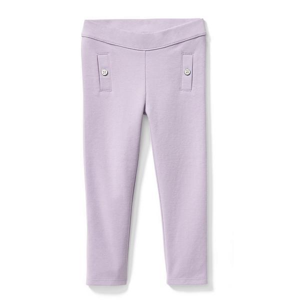 Button Ponte Pant