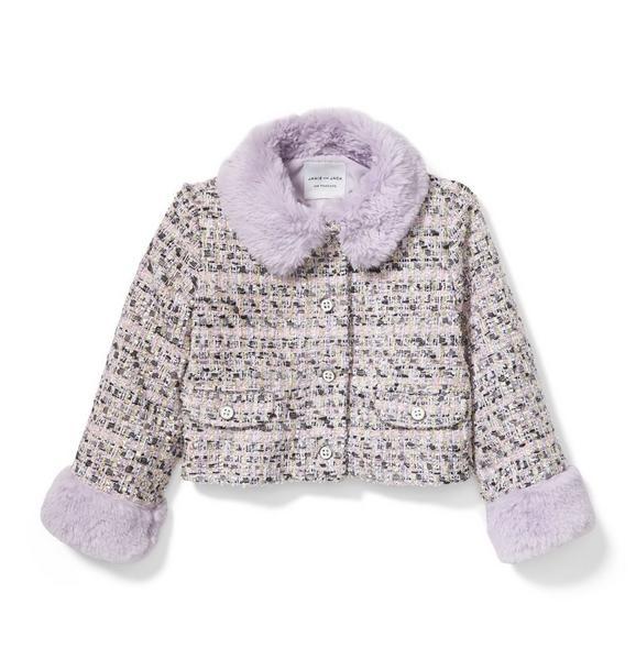 Shimmer Bouclé Jacket