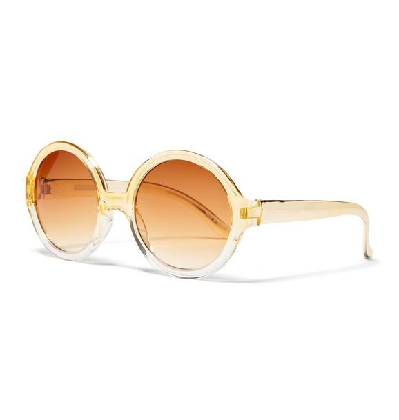 Rachel Zoe Gold Sunglasses