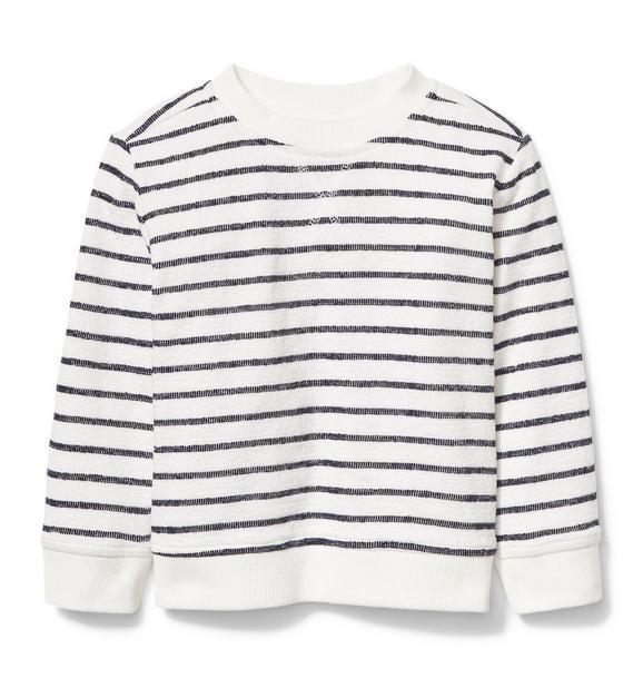 Rachel Zoe Stripe Sweatshirt
