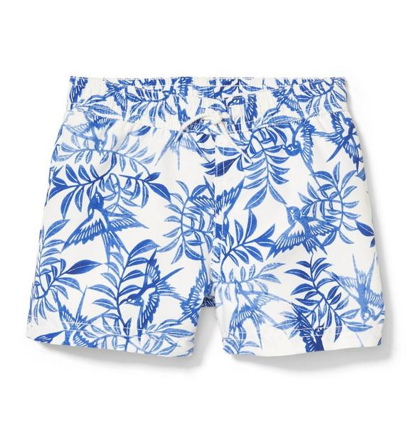 Rachel Zoe Palm Swim Trunk