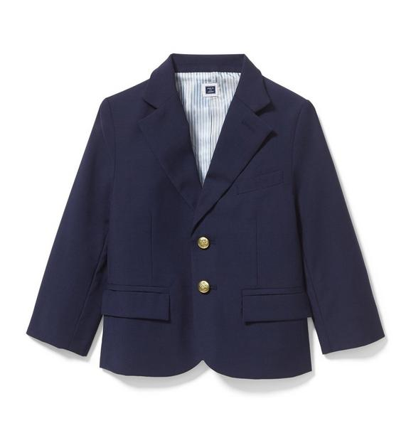 Wool Suit Blazer
