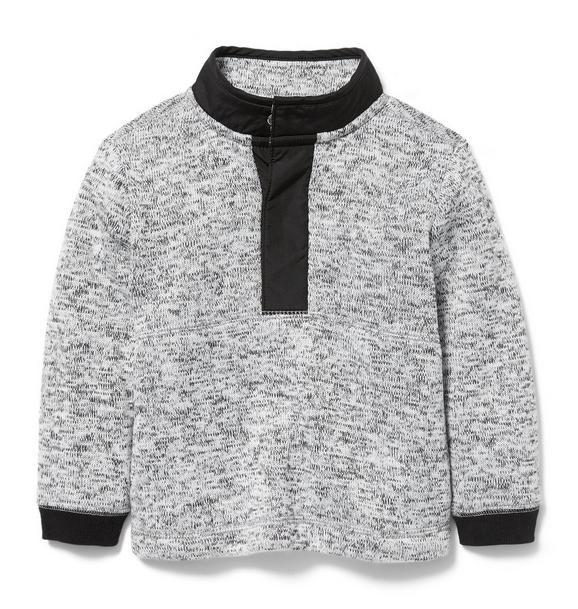 Half Snap Sweater Fleece