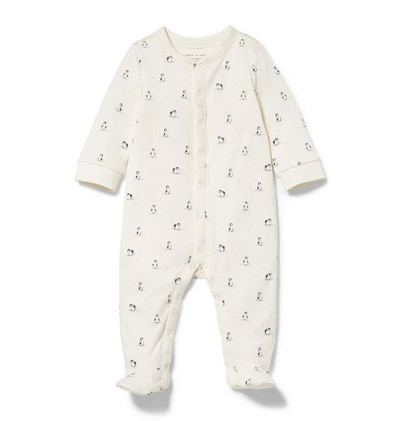 Penguin Footed 1-Piece