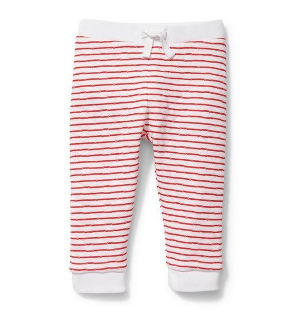 Red Stripe Pant