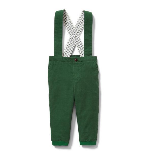 Corduory Suspender Pant