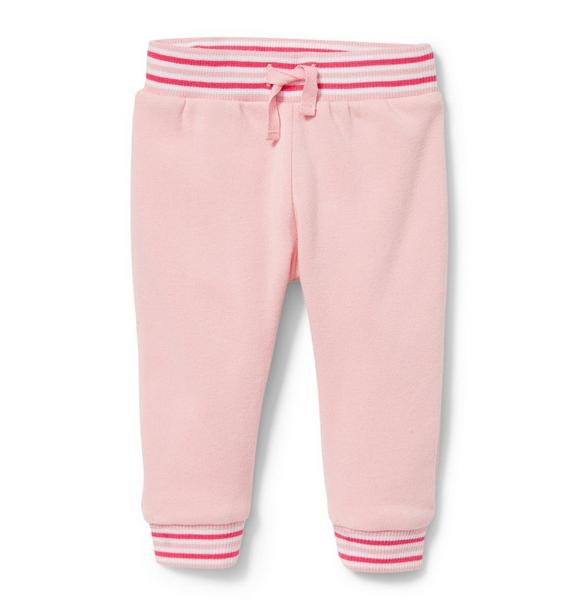 Striped Fleece Pant
