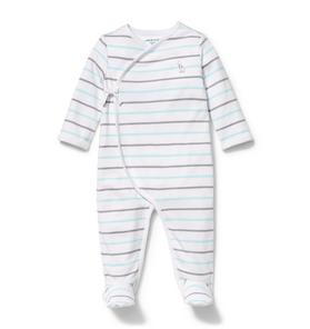 Wrap Front Footed 1-Piece