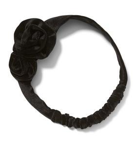 Velvet Rosette Headband