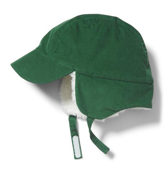 Corduroy Trapper Hat