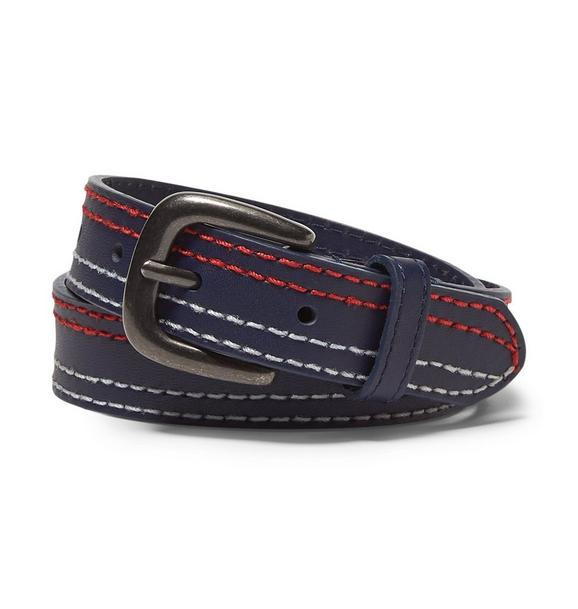 Leather Stitch Belt