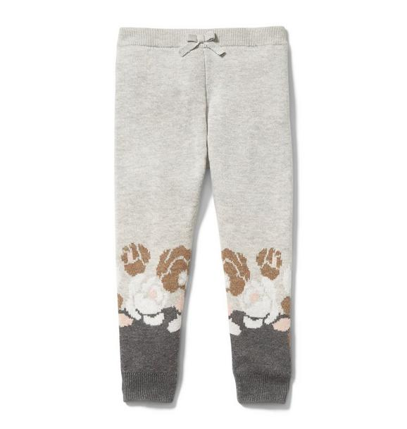 Floral Colorblocked Pant