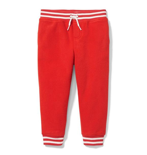Fleece Striped Jogger