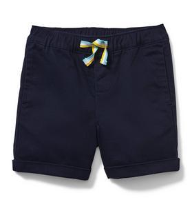 Pull-On Twill Short