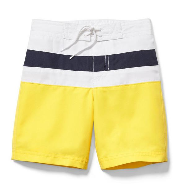 Colorblocked Swim Trunk