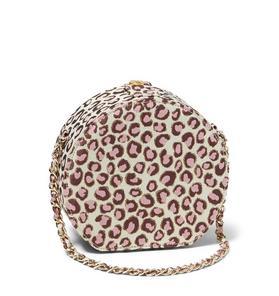 Leopard Circle Purse