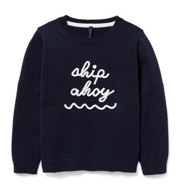 Ship Ahoy Pullover