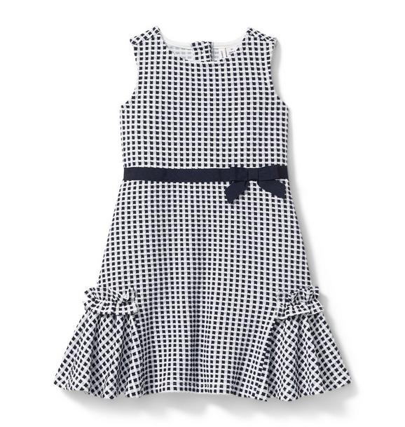 Jacquard Mini Check Dress