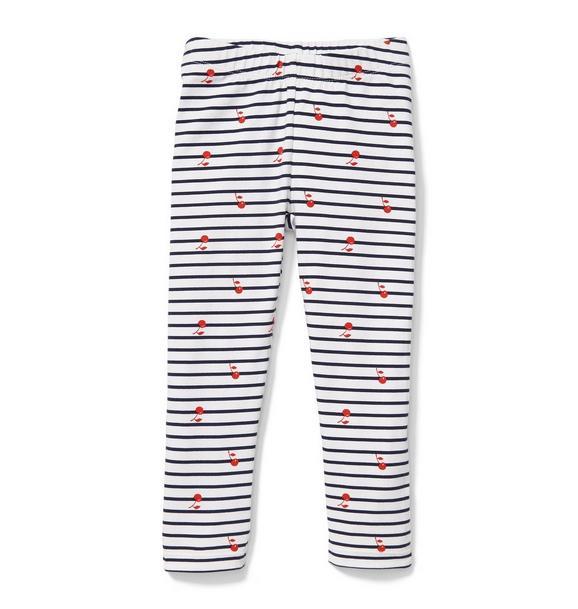 Stripe Cherry Legging