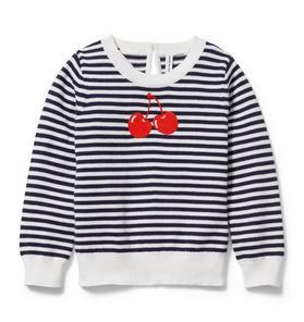 Cherry Stripe Sweater