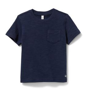 Slub Pocket Tee