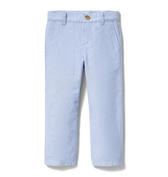 Oxford Cotton Pant