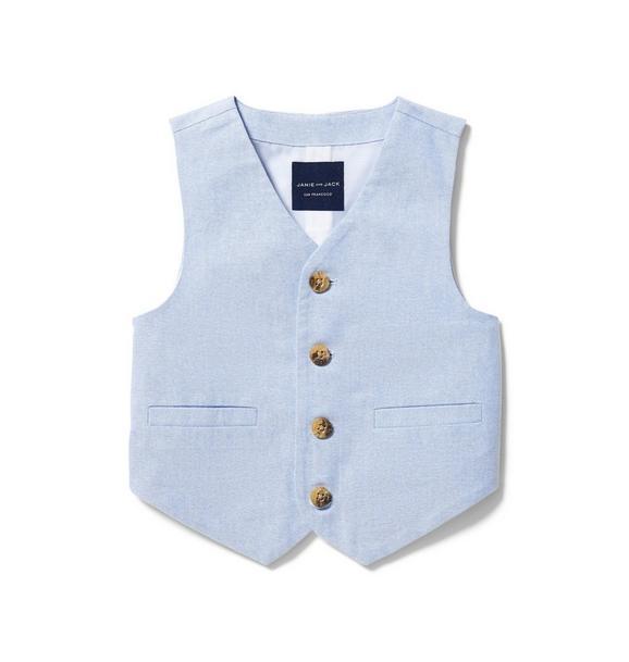 Oxford Cotton Vest