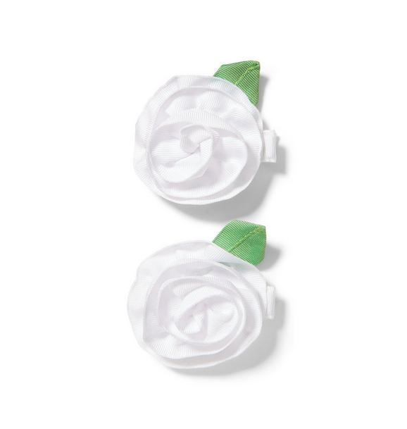 Rose Barrette 2-Pack