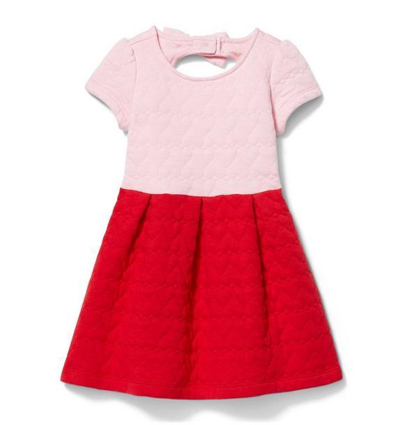 Valentine Colorblock Dress