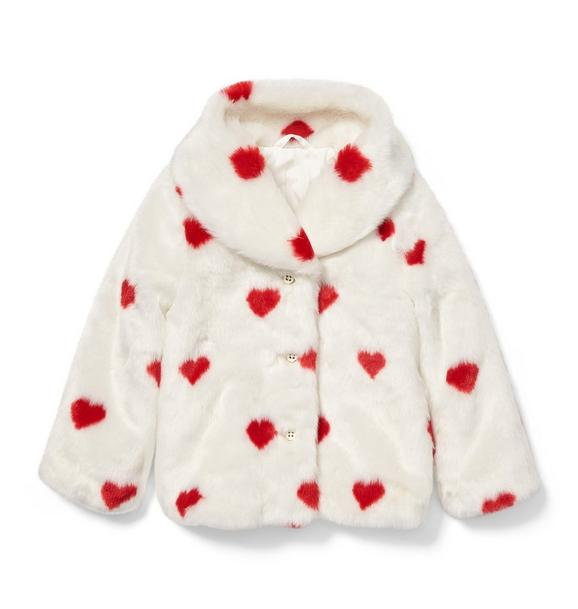 Valentine Faux Fur Jacket