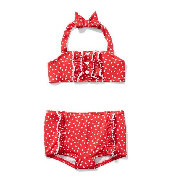 Valentine Heart 2-Piece Swimsuit