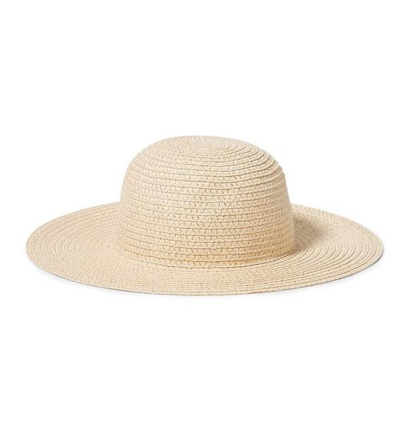 Gold Straw Sun Hat