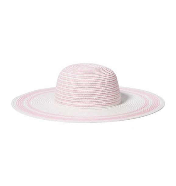 Stripe Straw Sun Hat