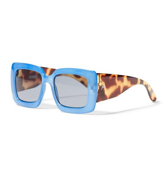 Square Two Tone Sunglasses