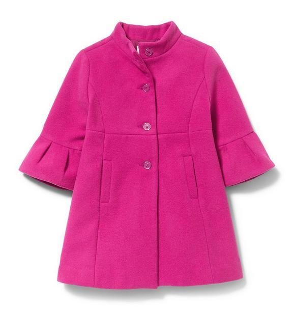 Bell Sleeve Coat