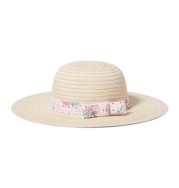 Floral Straw Hat