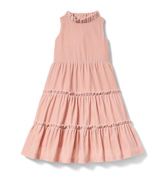 Rachel Zoe Velvet Tiered Maxi Dress