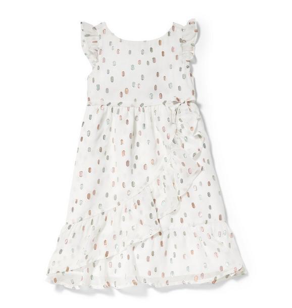Rachel Zoe Fil Coupé Maxi Dress