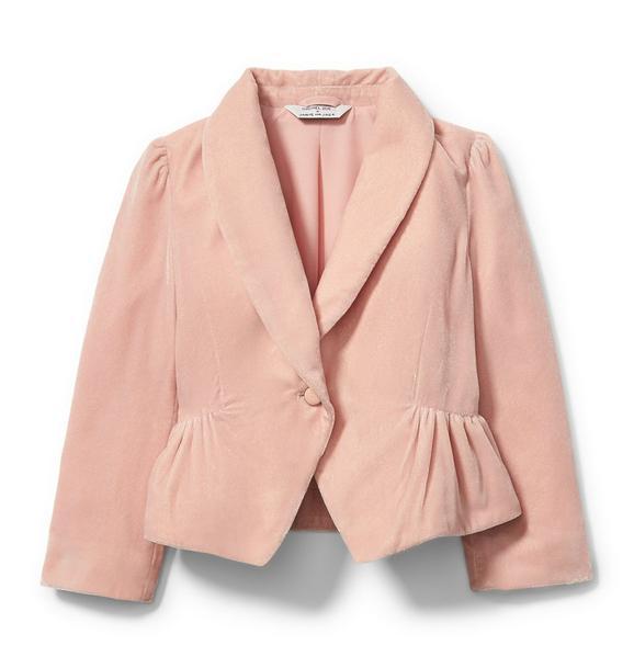 Rachel Zoe Velvet Tuxedo Jacket