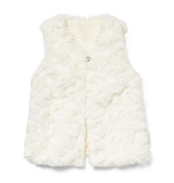 Rachel Zoe Faux Fur Long Vest