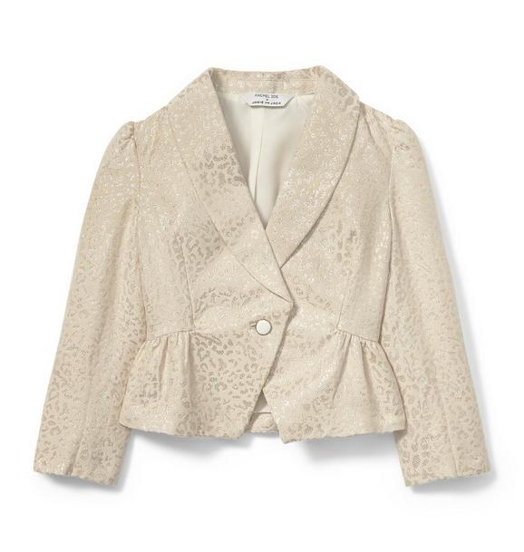 Rachel Zoe Cheetah Tuxedo Jacket