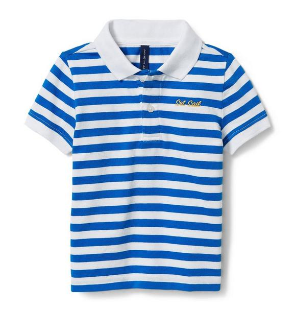 Set Sail Stripe Polo