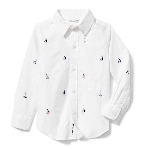 Sailboat Oxford Shirt