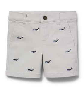 Whale Khaki Short