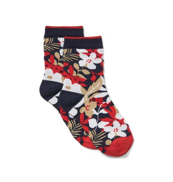 Hibiscus Sock